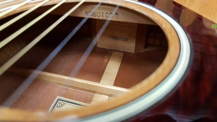 Yamaha FG Serial Numbers, Interior Markings, and Labels